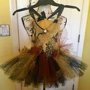 WOODLAND FAIRY couture tutu dress/costume